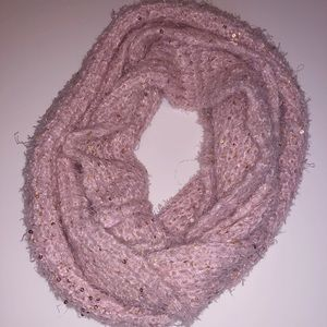Betsey Johnson | Light Pink Infinity Scarf